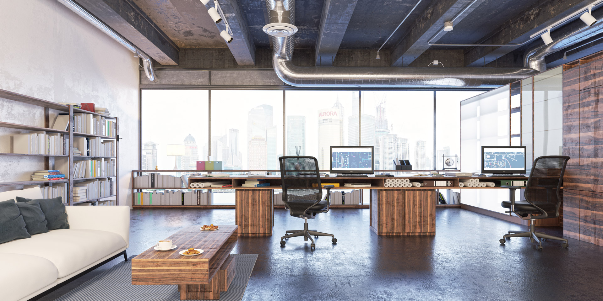 interior design per uffici, studi